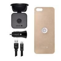 Mountr iPhone 5/5S Uyumlu Akıllı Araç Tutacağı ( Altın Renk Kapak ) - SK-SCM-i5A