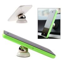Uygun Araç İçi 360° Dönebilen Mıknatıslı Yapışkanlı Telefon Tutucu - T2743