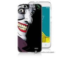 Teknomeg Vodafone Smart 6 Kapak Kılıf Joker Baskılı Silikon