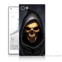 Teknomeg Sony Xperia Z5 Mini Ölüm Meleği Baskılı Silikon Kılıf