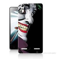 Teknomeg Lenovo A6010 Kapak Kılıf Joker Baskılı Silikon