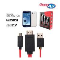 Case 4U Samsung i9300 Galaxy S3 / i9500 Galaxy S4 / N7100 Note 2 Hdmi Adaptör