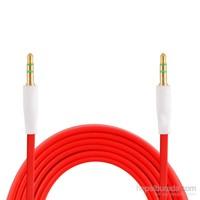 Case 4U Aux Ses Kablosu Kırmızı