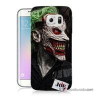 Teknomeg Samsung Galaxy S6 Edge Plus Kapak Kılıf Joker Joe Baskılı Silikon