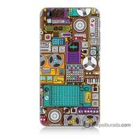 Teknomeg Htc Desire 816 Kılıf Kapak Teknoloji Baskılı Silikon