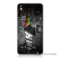 Teknomeg Htc Desire 816 Kapak Kılıf Pink Floyd Baskılı Silikon