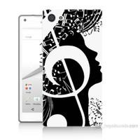 Teknomeg Sony Xperia Z5 Mini Notalar Baskılı Silikon Kılıf