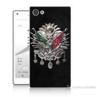 Teknomeg Sony Xperia Z5 Mini Osmanlı Baskılı Silikon Kılıf