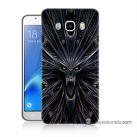 Teknomeg Samsung J5 2016 Kılıf Kapak Korku Canavarı Baskılı Silikon