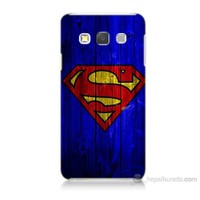 Teknomeg Samsung Galaxy A7 Kapak Kılıf Superman Baskılı Silikon