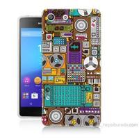 Teknomeg Sony Xperia M5 Teknoloji Baskılı Silikon Kılıf