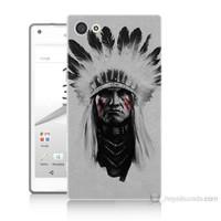 Teknomeg Sony Xperia Z5 Geronimo Baskılı Silikon Kılıf