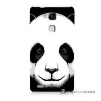 Teknomeg Huawei Mate 7 Kapak Kılıf Panda Baskılı Silikon