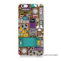 Teknomeg İphone 6 Plus Kılıf Kapak Teknoloji Baskılı Silikon