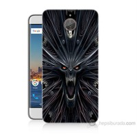 Teknomeg General Mobile Gm5 Plus Korku Canavarı Baskılı Silikon Kılıf