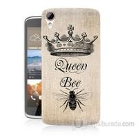 Teknomeg Htc Desire 828 Queen Bee Baskılı Silikon Kapak Kılıf