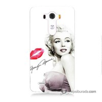 Teknomeg Lg G3 Kapak Kılıf Marilyn Monroe Baskılı Silikon