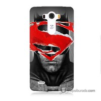 Teknomeg Lg G3 Kapak Kılıf Batman Vs Superman Baskılı Silikon