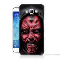 Teknomeg Samsung Galaxy A8 Starwars Güç Uyanıyor Baskılı Silikon Kılıf