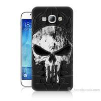 Teknomeg Samsung Galaxy A8 Punnisher Kurukafa Baskılı Silikon Kılıf