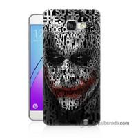 Teknomeg Samsung Galaxy A7 2016 Kapak Kılıf Joker Baskılı Silikon