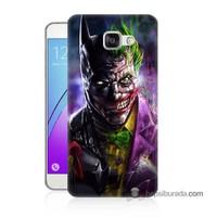 Teknomeg Samsung Galaxy A7 2016 Kılıf Kapak Batman Vs Joker Baskılı Silikon