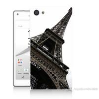 Teknomeg Sony Xperia Z5 Eyfel Kulesi Baskılı Silikon Kılıf