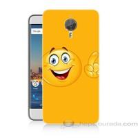 Teknomeg General Mobile Discovery Gm5 Plus Emoji Baskılı Silikon Kapak Kılıf