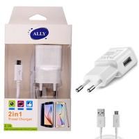 Ally 2.0A Hızlı Şarj Başlık Ve Usb Kablo Set