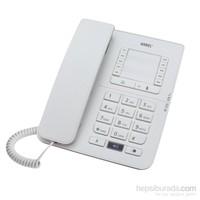 Karel TM142 Krem Masa Telefonu