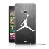 Teknomeg Nokia Lumia 535 Kapak Kılıf Nba Baskılı Silikon