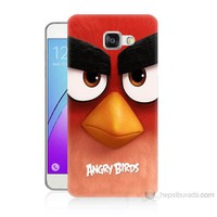 Teknomeg Samsung Galaxy A7 2016 Kapak Kılıf Angry Birds Baskılı Silikon