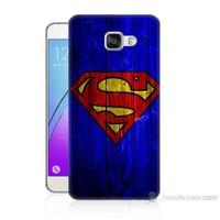Teknomeg Samsung Galaxy A7 2016 Kapak Kılıf Superman Baskılı Silikon