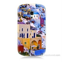 Teknomeg Samsung Galaxy S3 Mini İbiza Baskılı Silikon Kılıf