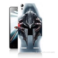 Teknomeg Lenovo A6000 Kılıf Kapak Assassins Creed Baskılı Silikon
