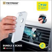 Tetrax Bundle Smart + Xcase iPhone 5/5s Beyaz Universal Araç İçi Tutucu - T11101/W (iPhone 5/5s Ekran Koruyucu Hediye)
