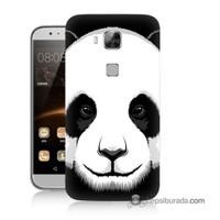 Teknomeg Huawei G8 Kapak Kılıf Panda Baskılı Silikon