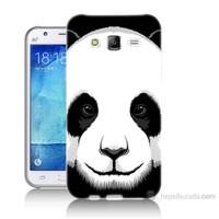 Teknomeg Samsung Galaxy J7 Kapak Kılıf Panda Baskılı Silikon
