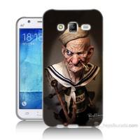 Teknomeg Samsung Galaxy J7 Kapak Kılıf Temel Reis Baskılı Silikon