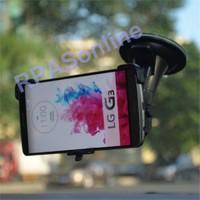 Markacase Lg G3 D850 Araç Cam Vantuzlu Eklemli Ayak Tutucu