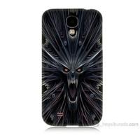 Teknomeg Samsung Galaxy S4 Korku Canavarı Baskılı Silikon Kılıf