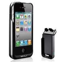 Mili Power iPhone 4s Spring 4 Bataryalı Kılıf