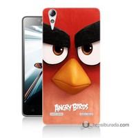 Teknomeg Lenovo A6010 Kapak Kılıf Angry Birds Baskılı Silikon