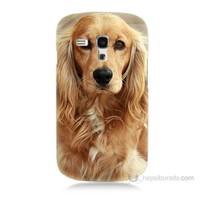 Teknomeg Samsung Galaxy S3 Mini Köpek Baskılı Silikon Kılıf