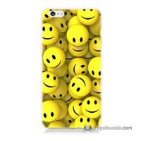 Teknomeg İphone 6S Plus Kapak Kılıf Smile Baskılı Silikon