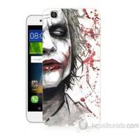 Teknomeg Huawei Gr3 Kanlı Joker Baskılı Silikon Kapak Kılıf