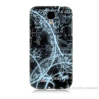 Teknomeg Samsung Galaxy S4 Matematik Baskılı Silikon Kılıf