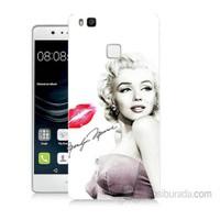 Teknomeg Huawei P9 Lite Marilyn Monroe Baskılı Silikon Kapak Kılıf