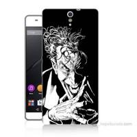 Teknomeg Sony Xperia C5 Gülen Joker Baskılı Silikon Kılıf