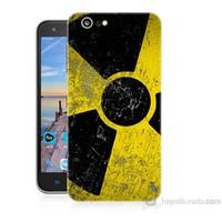 Teknomeg Turkcell T70 Radyasyon Baskılı Silikon Kapak Kılıf